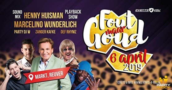 Henny's Playbackshow in Reuver