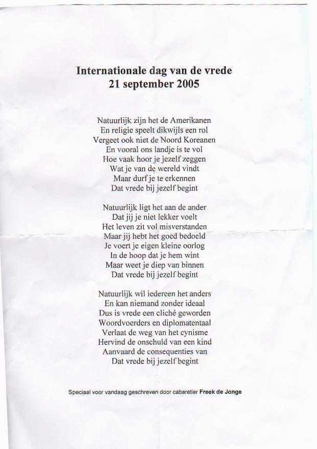 Uitgelezene Ludieke aktie op de dam voor Warchild - Henny Huisman de officiële CQ-58